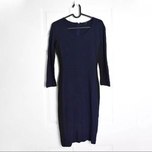 Aritzia Babaton Navy Bodycon Dress